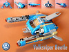 Volksviper Beetle (Clarkanine) Tags: lego 10252 volkswagen beetle viper vic nnovvember starfighter vw spaceship creator