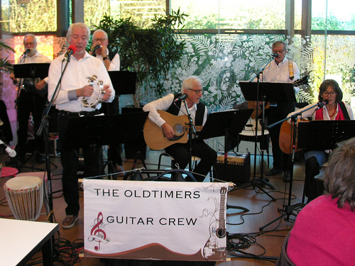 Koffietafel - The oldtimers guitar crew 22nov-2017