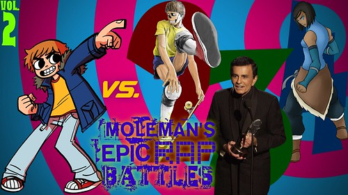 Moleman's Epic Rap Battles #42-B: Scott Pilgrim Vs. The World, Part 2