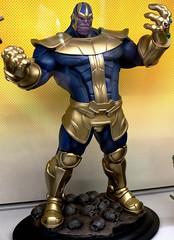 2017-Marvel's Thanos Statue by Artfx at SDCC-01 (David Cummings62) Tags: sandiego ca calif california comiccon con david dave cummings 2017 statue artfx marvel comics thanos villains