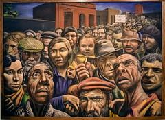 Manifestación (Antonio Berni, 1934) (pepelara56) Tags: pintura óleo social museo