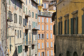 Perugia on the hilltop