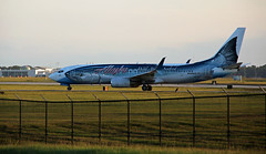 Fishnets (crusader752) Tags: alaskaairlines boeing 737890wl n559as charleston internationalairport southcarolina