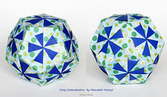 Daisy Dodecahedron by Meenakshi Mukerji (irina_chisa) Tags: origami kusudama