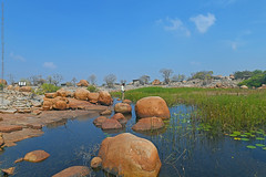 HIREBENKAL, THE LAND OF THE DEAD (GOPAN G. NAIR [ GOPS Photography ]) Tags: hirebenekal hire benkal hirebenkal benakal gops gopsorg gopsphotography gopangnair photography gopan karnataka india burial site dolmen rock stone art painting ancient settlement human