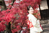 DSCF6703 (Robin Huang 35) Tags: 莊晴雅 日本 倉敷 美觀 倉敷美觀 和服 遊拍 人像 portrait lady girl fujifilm xt2 備中