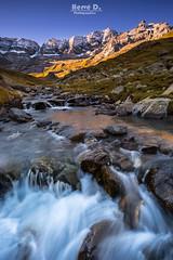 Gave d'Estaubé (Hervé D.) Tags: gavarnie estaubé pyrénées pirineos montagne stream torrent gave