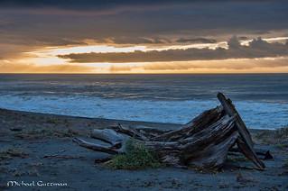 Sunset on the Northern California Coast