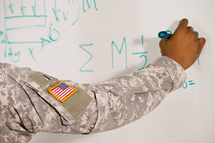 476803549 (evolutionlabs) Tags: 2024years africanamericanethnicity americanflag arm challenge classroom closeup college colorimage continuingeducation education engineering equation holding horizontal humanhand indoors instruction knowledge learning lesson man marker math military militarysoldier oneperson patch people photography problemsolving richmond school soldier solution standing student tradeschool training uniform unitedstates university vet veteran virginia waistup whiteboard writing youngadult youngmen