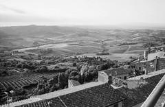 Vista, Montepulciano. Leica M6, 35mm Summciron ASPH, Fomopan 100 (nickdemarco) Tags: rangefinderchronicles blackwhite film leicam6classic 35mmsummicronasph italy fomopan tuscany
