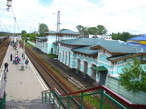 RZD Kubinka railway station building 2004