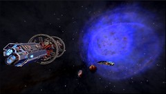 sagan ship and planetary nebula (CMDR Snarkk) Tags: elite dangerous dsn luxury tour nebula