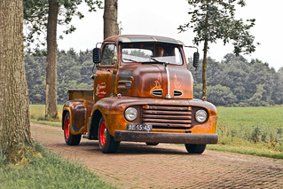 Ford F-5 C-Series COE Pick-Up Truck 1951 (4246)