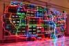 Electronic Superhighway: Continental U.S. (Lee Sutton) Tags: nam june paik 1996 electronic superhighway smithsonian washington dc