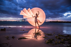 Kwinana Beach Light Painting- Lightning-5.jpg (picturesbysteve) Tags: sunset 24105f4 november2017 lightning kwinana canon6d 24105 sea ozlightjunkies 6d ©stephenhumpleby 2017 wa kwinanabeach perth longexposure westernaustralia model lightpainting beach canon lightening © stephen humpleby