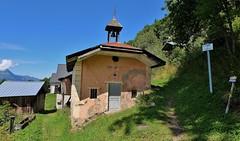 Saint Gervais les bains, hameau de Montivon (thierry llansades) Tags: tram tramway tramways train tren rail gare ecole voza saint saintgervais montagne mountain savoie chamonix hautesavoie