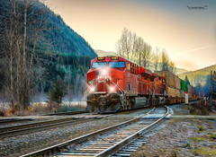CP 9367 06 NOV-714743-Art Oil Edit.jpg (Revybawb2010) Tags: fallcolour locomotives cpr containers greely cp9367 multilayerfinal