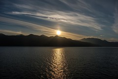 A Long Day Comes to a Close (MIKOFOX ⌘ Thanks 4 Your Faves!) Tags: reflection june learnfromexif insidepassage canada northernexpedition ferry island xt2 mikofox pacific summer channel britishcolumbia sunset water forest bc fujifilmxt2 marinehighway clouds xf18135mmf3556rlmoiswr