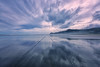 Into the Horizon (lfeng1014) Tags: intothehorizon pihabeach beach reflection converge cloudy tasmansea ocean sea blacksand blacksandbeach aucklandregion northisland newzealand nz landscape canon5dmarkiii ef1635mmf28liiusm light travel lifeng piha