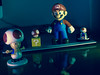Personajes - Nintendo (e-Lexia) Tags: mario bros nintendo toy juguete video game videogame peach mushroom