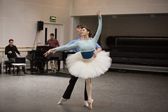 Watch: Marianela Nuñez rehearses The Royal Ballet's <em>Sylvia</em> with Darcey Bussell