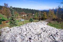 Hrušica, Roman fortress ruins (rlubej) Tags: hillsmountains history fortress ruins notranjska kras