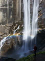 Breathtaking view (Explored 16 nov 2017) (RigieNL) Tags: longexposure le sony sonya6000 water waterfall yosemitenationalpark yosemite rainbow mist misttrail hike adventure nature usa amerika america californie california nationalpark insta instagram