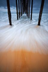 DSC_2235 (pattana92392) Tags: seawave sea longexposure sunset coast bridge