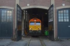 17.11.2017 (I); Locje ophalen (chriswesterduin) Tags: rrf class66 railfeeding ssn trein train locomotief locomotive