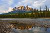 Castle Mountain (Banff NP, Alberta, Canada) (Sveta Imnadze) Tags: banffnp canada alberta canadianrickies castlemountain bowriver