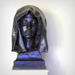Saint Gaudens. (Joseph Skompski) Tags: cornishnh cornish newhampshire saintgaudenshomeandstudio saintgaudens studyforadamsmemorial bust sculpture