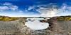 Blue lagoon in VR 360, Iceland (Zeeyolq Photography) Tags: iceland vr360 naturalhotspring virtualreality water swimmingpool bluelagoon islande vr sky equirectangular suðurnes