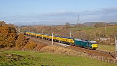 Pylon The Power! (Richie B.) Tags: english electric british rail class 50 50008 4z03 loram grinder dcr devon and cornwall railways 56 56303 great strickland wcml west coast main line cumbria