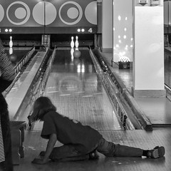 Bowling alley atmosphere 1 (Thiophene_Guy) Tags: thiopheneguy originalworks xz1 olympusxz1 bowling