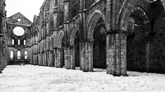 Tuscan Winter's Tale (Blende1.8) Tags: abbaziasangalgano tuscany toskana toscana winter snow schnee abtei kirche withoutroof ohnedach ruine ruin decay lostplace lostplaces church italy italien italia nikon d700 architecture architektur alt old historic europa europe carstenheyer