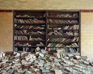 Decaying Books - Kodak Ektar 100