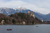 Rowing Boats and Bled Castle