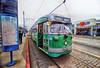 Streetcar in San Francisco (` Toshio ') Tags: toshio california sanfrancisco cablecar transportation pier39 america fujixe2 xe2 rail tracks street city map