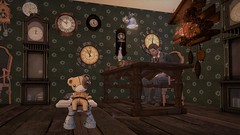 Mr. McKenzie's 1867 Clock Workshop