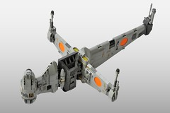 B-wing (3) (Inthert) Tags: lego b wing bomber star wars starfighter moc ship rebel blade gina moonsong ten numb snot squadron quarrie alliance fleet asf01 slayn korpil