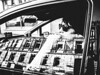 lost in space (matthias hämmerly) Tags: switzerland candid street streetphotography shadow contrast grain ricoh gr black white bw monochrom monochrome city town urban blackandwhite strasse people monochromphotography car woman mirror window glasses cool driver driving