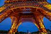 Eiffel Tower...a night shot.. (efiske) Tags: eiffel tower france