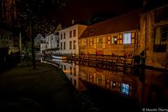 Sympa !!!  Bruges (musette thierry) Tags: bruges brugge nuit flandre flandreoccidentale venise nord belgique belgium musette thierry 1835mm reflets reflex