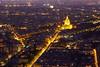 Funkelstadt (ploh1) Tags: paris nachtaufnahme langzeitbelichtung lichter beleuchtet frankreich hauptstadt aussicht ausblick häuser strasen vogelperspektive bauwerk