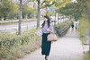Lady Daydreamer (リンドン) Tags: japan kyoto woman girl shopping street photography nikon d800 sigma 85mm 14 ex bokeh ニコン 日本 京都 道 女 女性