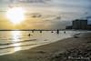 Waikiki Beach | Honolulu (M.J. Scanlon) Tags: waikiki waikikibeach honolulu hawaii beach sand water sunset sky sun ocean oahu scanlon mojo photography photographer photo picture capture trip travel