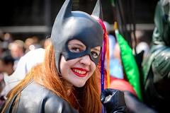 Bat Girl (vinnie saxon) Tags: people pride parade street event girl costume batman montréal nikon nikoniste colors
