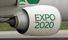 A6-EPU LMML 26-11-2017 (Burmarrad (Mark) Camenzuli) Tags: airline emirates aircraft boeing 77731her registration a6epu cn 42340 lmml 26112017
