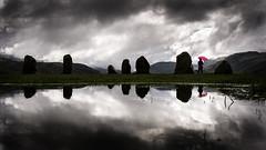 Castlerigg (Mopple Labalaine) Tags: castlerigg lakedistrict uk england clouds stone circle megalithic prehistoric keswick pentax umbrella