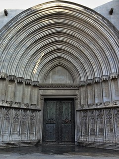 Side door ...(Cathedral of Saint Mary in Girona)